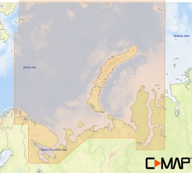 Карта C-MAP MAX-N+ WIDE RS-Y202 - Северо-Западное побережье России